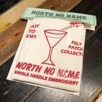 {NORTH NO NAME} PATCH DESIGN PRINT T-SHIRTS