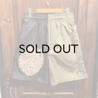 """{COOKMAN × NO MAD NUMSKULL} """"MAD MAN"""" Chef Shorts / (Chill)"""