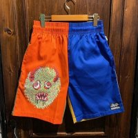 """{COOKMAN × NO MAD NUMSKULL} """"MAD MAN"""" Chef Shorts / (Party)"""